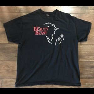 Vintage - Disney Beauty and the Beast Broadway Tee
